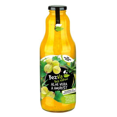 Madami Ovocný nápoj koncentrát Aloe vera Angrešt 55% 1,0l