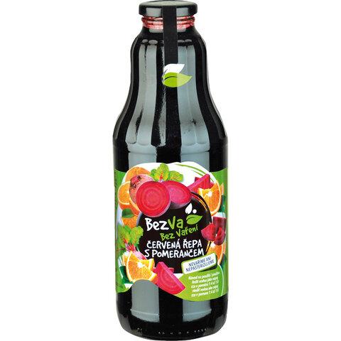 Madami Ovocný nápoj koncentrát Červená řepa a Pomeranč 93% 1,0l