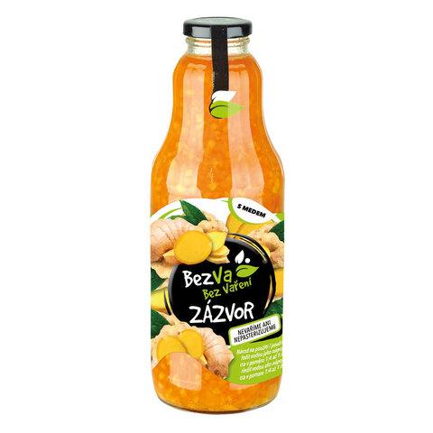 Madami Ovocný nápoj koncentrát Zázvor 41% 1,0l