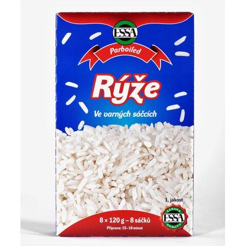 Rýže Parboiled Varné Sáčky 960gESSA