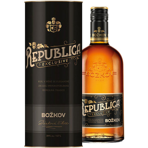 Božkov Republica Exclusive 38% 0,7l TUBA