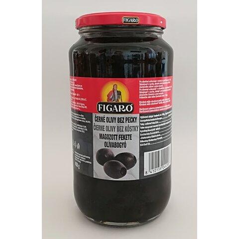Olivy Černé bez pecky 920g