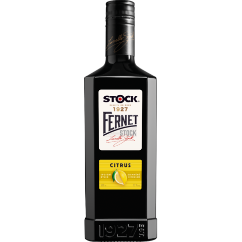 Fernet Stock Citrus 27% 0,5l