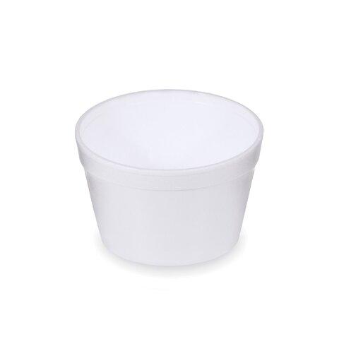 Termo-Miska Kulatá Bílá 460 ml (25ks)