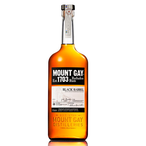 Rum Mount Gay Black Barrel 43% 0,7l