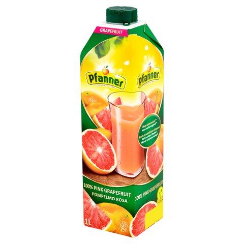 Pfanner TP Růžový Grapefruit 1,0l