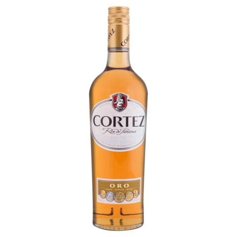 Rum Cortez Oro 40% 0,7l