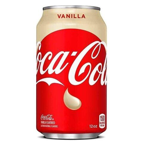Coca Cola PLECH 0,355l Vanilka USA