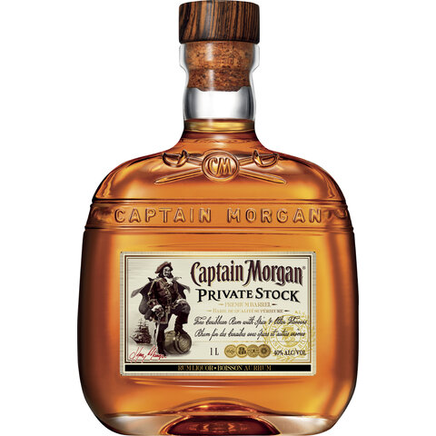 Cpt. Morgan Private Stock 40% 1,0l