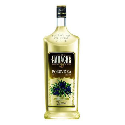 Hanácká Borovička 38% 1,0l