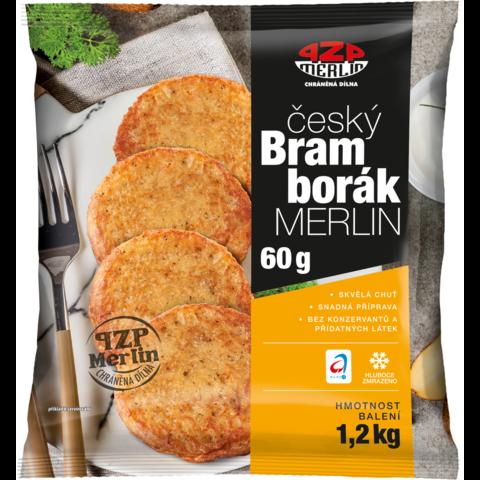 MRAŽ. Český Bramborák s česnekem 1,2kg (cca 20ks)