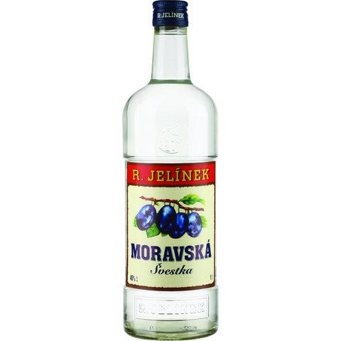 RJ Moravská Švestka Bílá 38% 1,0l
