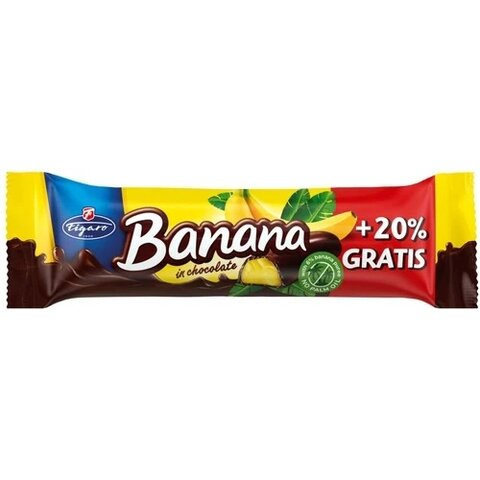 Tyčinka Banánek v čokoládě Figaro 25g
