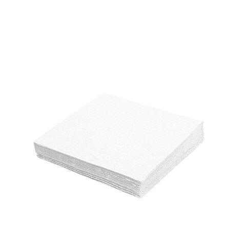 Ubrousky 30x30/1vr. bílý (500Ks)