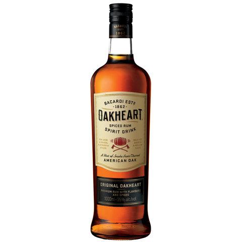 Rum Bacardi Oakheart 35% 1,0l