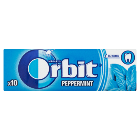Orbit Spearmint Dražé 14g
