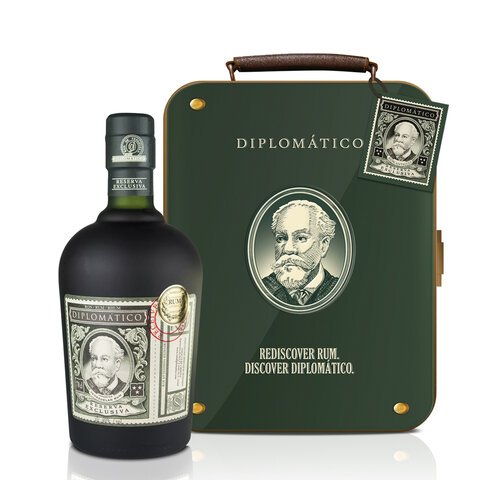 Rum Diplomatico Reserva Exclusive 12y PLECH 40% 0,7l