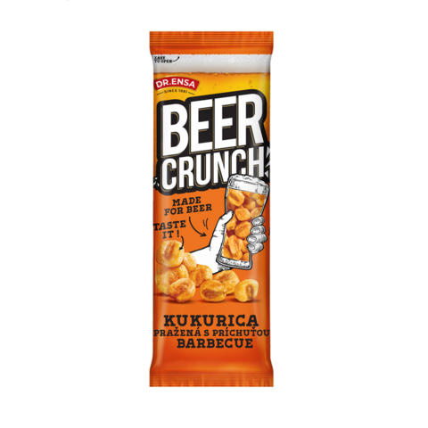 Beer Crunch Kukuřice Barbecue Ensa 60g