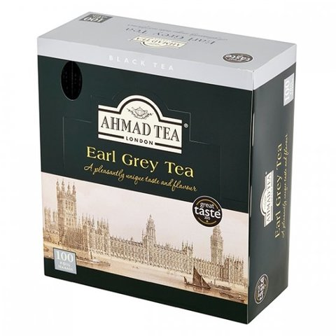 Čaj Ahmad Earl Grey 100x2g