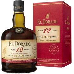Rum El Dorado 12yo 40% 0,7l