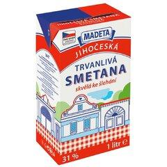 Smetana Trvanlivá Na Šlehání MADETA 31% 1,0l