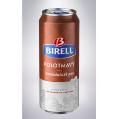 Birell PLECH Polotmavý 0,5l