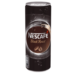 Nescafe 0,25l Black PLECH