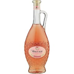 Gemma Polosladké Víno Merlot Rose 0,75l