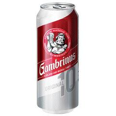 Gambrinus 10° PLECH 0,5l