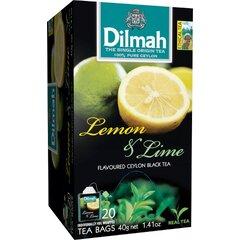 Dilmah Čaj Černý Citron Limetka 20x2g