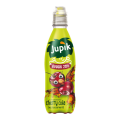 Jupík Funny Fruit Cherry Cola PET 0,33l