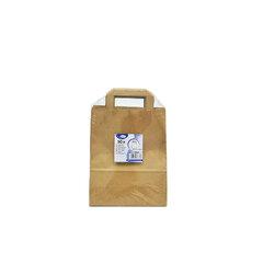 Papírové tašky 22x10x28 Hnědé (50ks)