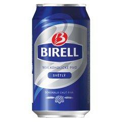 Birell Světlý PLECH 0,33l
