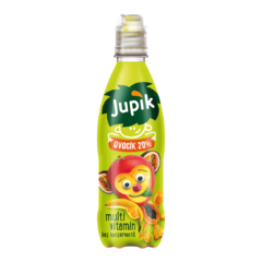 Jupík Funny Fruit Multivitamín PET 0,33l