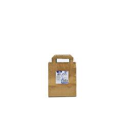 Papírové tašky 18+8x22 Hnědé (50ks)