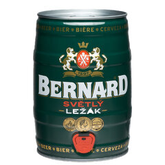 Bernard Světlý Ležák Soudek 5,0l
