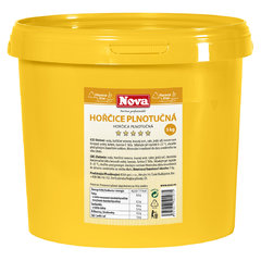 Hořčice Plnotučná 5,0kg NOVA