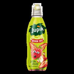 Jupík Funny Fruit Jahoda PET 0,33l